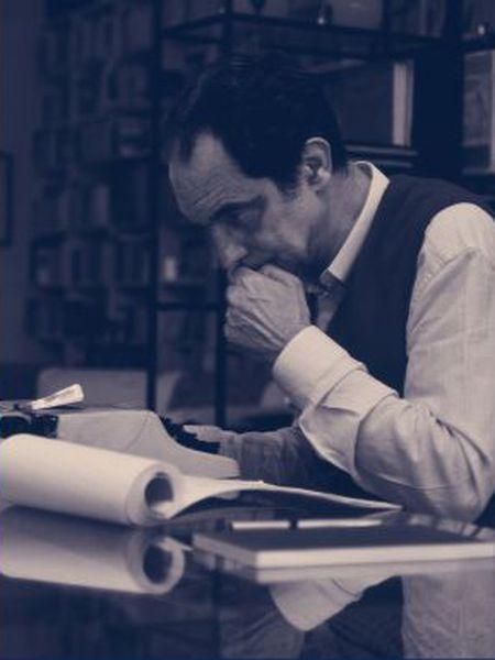 El escritor Italo Calvino.