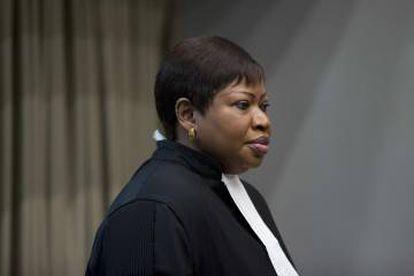 La Fiscal Fatou Bensouda en una foto tomada en diciembre.