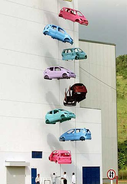 La fábrica de Mercedes Benz en Juiz de Fora (Brasil).