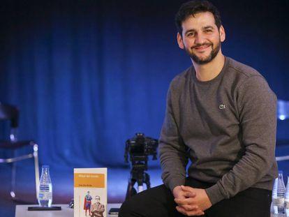 El actor y director Fran Perea, en Málaga, el pasado diciembre.
