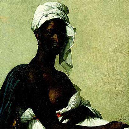 <i>Retrato de una mujer negra</i> (1800), de Marie-Guillemine Benoist.