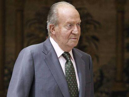 El rey emérito, Juan Carlos de Borbón.