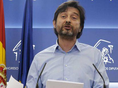 Rafael Mayoral, en el balance del año por parte de Podemos.