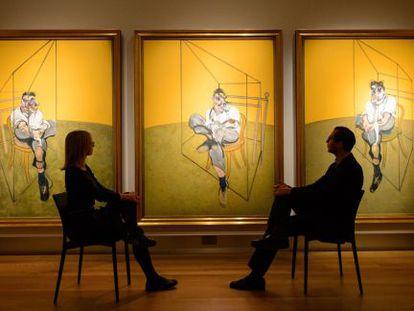 'Tres estudios de Lucian Freud', de Francis Bacon.