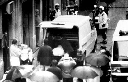 El concejal del PP en San Sebastián Gregorio Ordoñez fue asesinado por ETA en 1995.