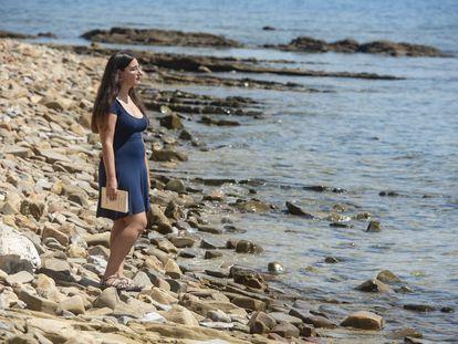 Begoña M. Rueda en Algeciras, el 5 de julio.
