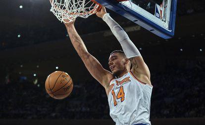 Hernangómez, con los Knicks en noviembre.