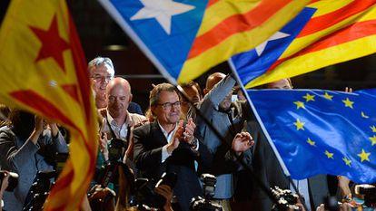 Directo: Noche electoral en Cataluña