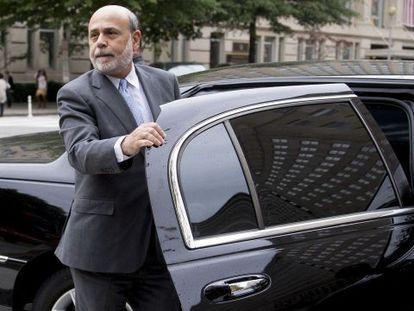 Ben Bernanke, expresidente de la Reserva Federal de EE UU