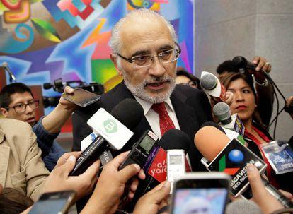 El expresidente boliviano Carlos Mesa el pasado septiembre.