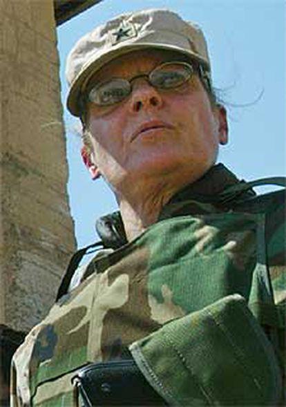 La general de brigada Janice Karpinski, encargada de la prisión iraquí de Abu Ghraib.