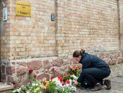 El atentado contra una sinagoga en la ciudad alemana de Halle se suma a numerosos ataques contra los judíos