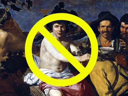 El Baco de Velázquez no aprobaría este artículo, pues defiende que la fiesta y el jolgorio es posible sin el vino.