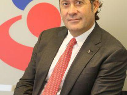 El banquero venezolano Juan Carlos Escotet, esta semana en Madrid