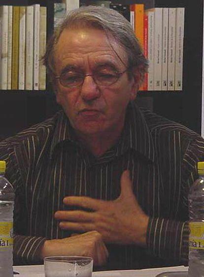 Jacques Rancière, profesor de estética y filosofía política en la Universidad de Saint-Denis.