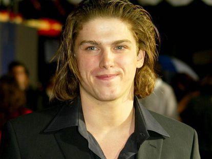 Michael Mantenuto, en el estreno de la película 'El Milagro', en 2004.