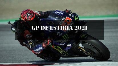 El piloto Fabio Quartararo, durante el Gran Premio de Estiria de Motociclismo 2021. Studio Milagro / DPPI