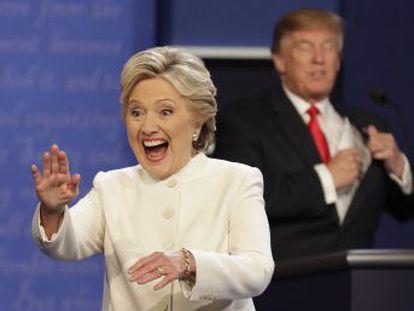 El republicano se impuso para un 39% de los consultados en una encuesta de CNN. La demócrata ya venció en las otras dos citas
