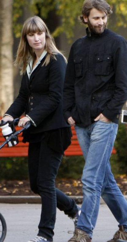 Eva Sannum, con su marido Torgeir Vierdal.