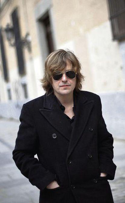 El cantante Nacho Vegas, fotografiado en Madrid.
