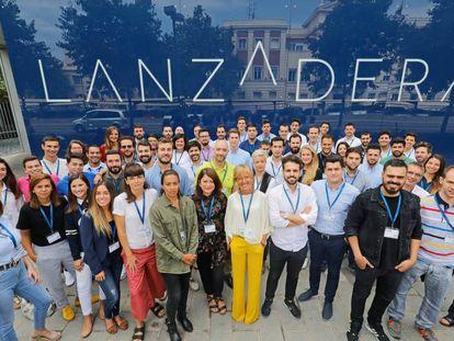 Los participantes en la nueva edición de Lanzadera.