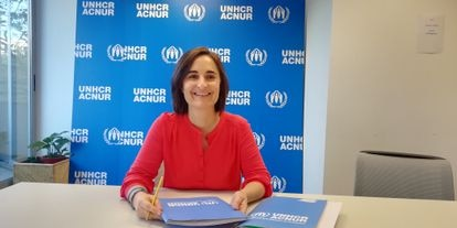 Eva Menéndez, especialista en temas de género de Acnur España.