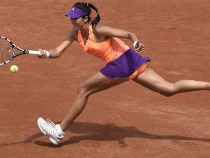 Garbiñe Muguruza, ante Serena Williams