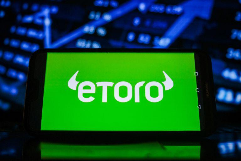 Logo de eToro en una imagen de archivo.