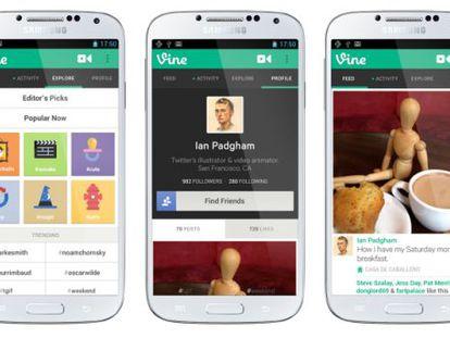 Vine se estrena en los móviles de Google.