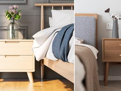 Dos ejemplos de mesitas estilosas y versátiles para el hogar. GETTY IMAGES.