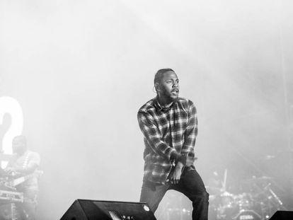 Kendrick Lamar en el FIB de 2016.