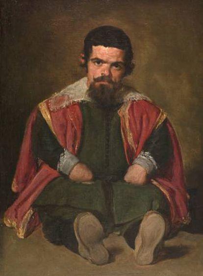 'El Primo', retrato conocido hasta ahora como 'Sebastian de Morra'.