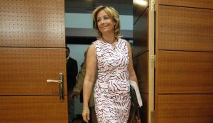 Esperanza Aguirre, en septiembre de 2012.