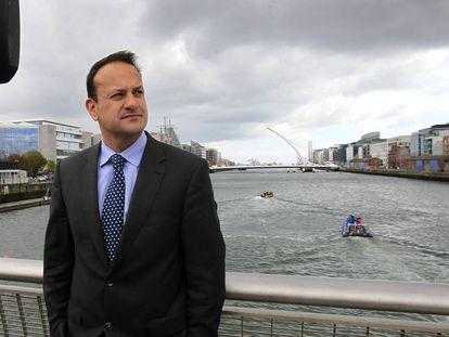Leo Varadkar, primer ministro irlandés, fotografiado en Dublín. Es el primer mandatario abiertamente gay y de una minoría étnica de Irlanda, además de el más joven de su historia.