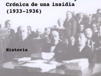 Cubierta del libro 'El caso Casas Viejas', del periodista Tano Ramos, publicado por Tusquets.