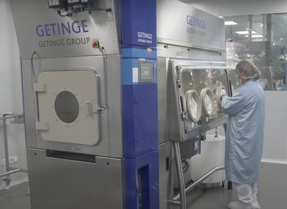 Instalaciones de Reig Jofre para el desarrollo de la vacuna de Vaxdyn.