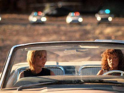 Geena Davis y Susan Sarandon, en 'Thelma y Louise'.