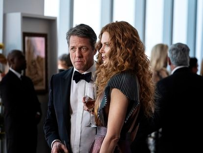 Hugh Grant y Nicole Kidman, en 'The Undoing'.