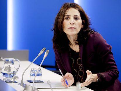 La presidenta del Parlamento vasco, Bakartxo Tejería.