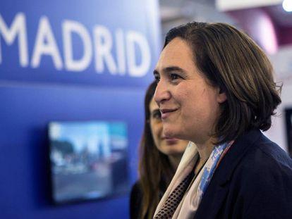 Ada Colau, en el Smart City Expo World Congress (SCEWC).