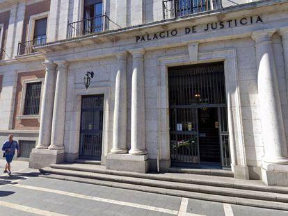 La fachada de la Audiencia Provincial de Valladolid.GOOGLE MAPS