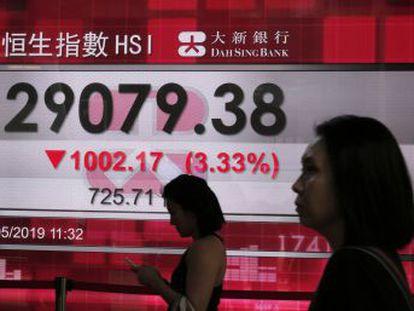 Pekín mantiene sus planes de mandar una delegación a Washington para negociar un acuerdo, mientras caen las Bolsas