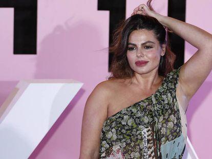 La modelo Marisa Jara.