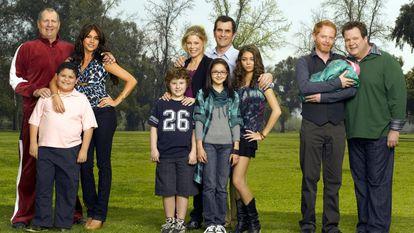 Foto promocional de la primera temporada de 'Modern Family'.