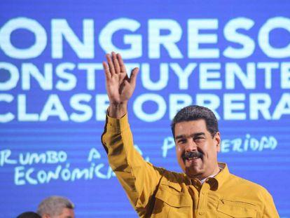 El mandatario venezolano, Nicolás Maduro, la semana pasada.