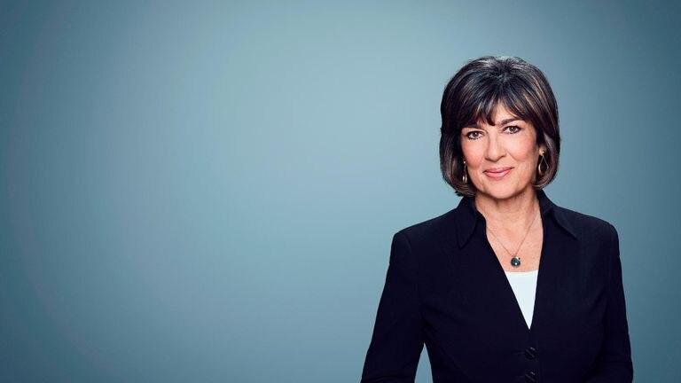 Christiane Amanpour, en una foto cedida por CNN.