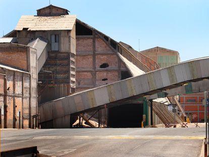 Exteriores de la mina de Sallent.