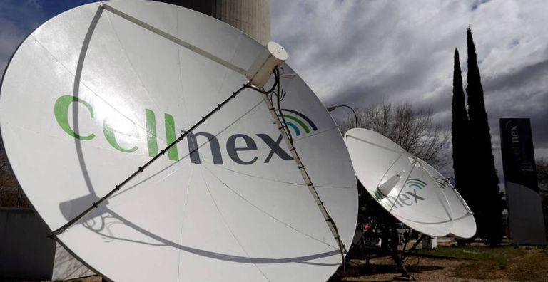 Antenas de Cellnex, en una imagen de archivo.