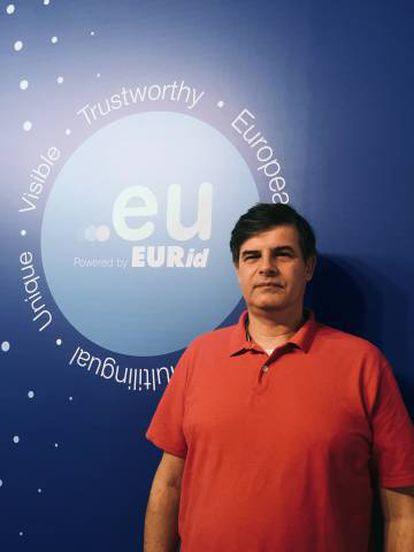 Jordi Iparraguirre, director del departamento de Innovación de EURid.