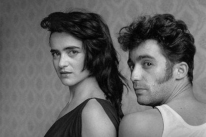 'Self-portrait with Ana Curra' (1984), by Alberto García-Alix.